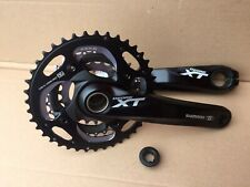 Shimano Deore XT M782 Triple 3 x 10 Speed 22 / 30 / 40 Chainset 175mm