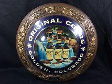 Coors Beer Sign Lighted Golden Colorado Bar Man Cave Vintage
