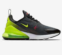 Nike Air Max 270 SE Anthracite Volt Black Running Shoes AQ9164-005 Men's size 11