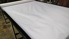 "BRIGHT WHITE 1.9 oz. NYLON RIPSTOP FABRIC 60""W TENT WATERPROOF COATED DWR"