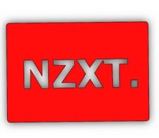 RED - NZXT - 2.5inch SSD/HDD SATA Hard Drive Cover Plate INTERNAL SOLID