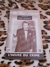 L'heure du crime - Un film policier n° 5 - Dick Powell