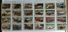 WESTON'S BISCUITS CARDS - VETERAN & VINTAGE CARS. 1962. 2ND SERIES. 1-24 SET.