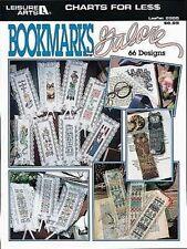 Bookmarks Galore Cross Stitch Chart/Pattern - 66 Designs ( Leisure Arts)