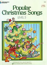 POPULAR CHRISTMAS SONGS, Level 3, Arranged by James Bastien