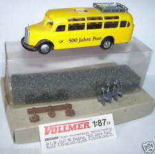 VOLLMER HO 1/87 BUS CAR MERCEDES O 350 POSTES POSTE PTT