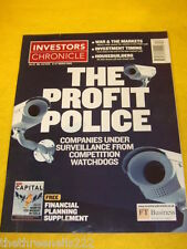 INVESTORS CHRONICLE - THE PROFIT POLICE - MARCH 21 2003
