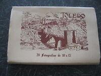 TOLEDO - SPAIN ~ 20 Vintage B+W Real Photo Postcards Circa 1950s-1960s