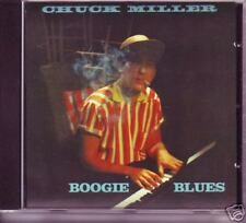 Chuck Miller-boogie blues-hard to find CD