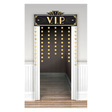 Large VIP Hollywood Party Door Curtain decoration Oscar Movie Party Supplies