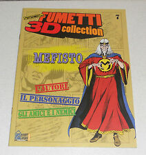 Fascicolo Fumetti 3D Collection 7 MEFISTO Bonelli TEX Willer Hobby & Work 2010