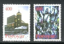 SELLOS NAVIDAD FEROE 1995 285/6  2v.