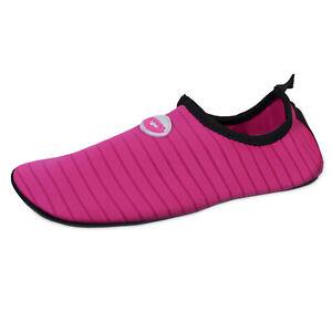 New Women's Water Sports Beach Barefoot Yoga Quick Dry Aqua Sock Slip On Shoes