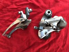 Shimano FD and RD-6400, 600 Ultegra Front / Rear derailleur Set Tricolor 7 speed