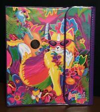 NWT NEW Rare Vintage 1990s Lisa Frank Luau Hula Kitty Trapper Keeper Binder Set