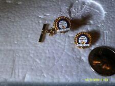 VINTAGE UAW COMMUNITY SERVICE UNION COUNSELOR TIE TAC & LAPEL PIN