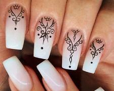 Ornamente NailArt Sticker Nagelsticker Nageldesign Tattoo 00149- 20 Stück