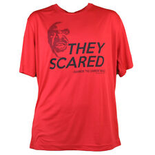 They Scared Dry Fit Mens Tshirt Tee Red Shannon Briggs The Cannon Boxer Champ
