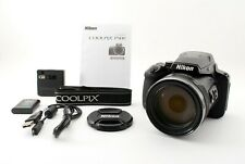 Nikon COOLPIX P900 Black Digital Camera 16MP 83x Optical Zoom From Japan 701535
