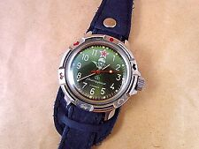 Rare Vintage Soviet Watch Komandirskie Diver Russian waterproof