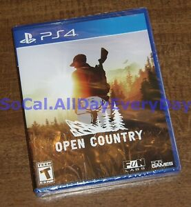 Open Country - Hunting / Survival (PlayStation 4, Physical) BRAND NEW SEALED ps4