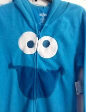 Sesame Street Cookie Monster Footed Pajamas Costume Footie M NWT LAST ONE