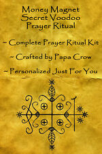 Money Magnet Voodoo Prayer Ritual Kit Draw Cash Wealth Income Sales Success