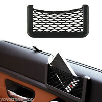 Car Back Seat Side Organizer Tidy Net Storage Bag Case Holder Pocket for Phone