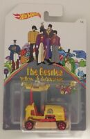 "HOT WHEELS THE BEATLES YELLOW SUBMARINE ""BUMP AROUND"" 1/6 DML74-D510 NEW"