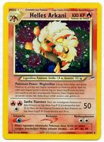Pokemon Helles Arkani Light Arcanine Holo 12/105 Neo Destiny DE MINT PSA? PP #1