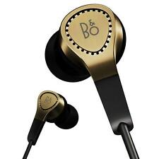 B&O H3 BeoPlay In Ear Earphones with Mic & Remote (iPod/iPhone/iPad) NEW - GOLD