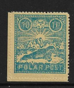 POLAR POST LOCAL STAMP,NORWAY,SPITZBERGEN,SPITSBERGEN,SPIDSBERGEN,SVALBAR,ARCTIC