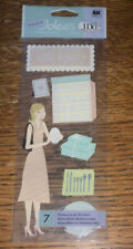 Jolee ~Bridal Registry~ Tittle Wedding Shopping House Gifts Scrapbook Stickers