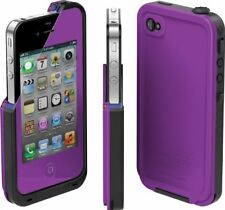 Lifeproof Waterproof Case for iPhone 4 & iPhone 4s Purple/Black Authentic - NEW