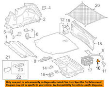 MERCEDES OEM 17-18 C300 Interior-Rear-Upper Trim Clip Right 0019913598