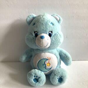 "2015 Bedtime Care Bear plush 13"" Sweet Dreams Moon Stars Stuffed Animal"