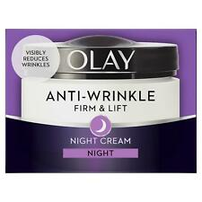 Olay Anti-Wrinkle Firm & Lift Anti-Ageing Moisturiser Night Cream Hydrating 50ml