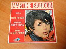 MARTINE BAUJOUD  EP 45 T  SIXTIES   YEYE GIRL