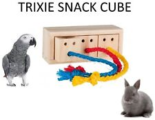 Trixie Wood Snack Cube Play Toy Birds 16 × 6 × 7 Cm 62815