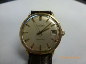 Vintage Hamilton Masterpiece Self Winding 10K Gold Filled Men's Watch Serviced