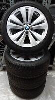 4 BMW Winterräder Styling 234 5er F10 F11 6er F12 245/45 R18 100V M+S 6775403