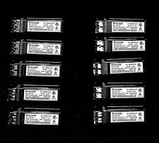 LOT 10X Brocade 57-1000117-01 XBR-000163 8Gbps, WL 850nm Distance Up to 300m