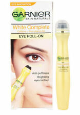 3 x Garnier White Brightening Eye Roll on For Dark Circles Puffiness Under Eyes