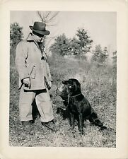 CHASSE c. 1950 - Chasseur Chien Labrador Gibier USA - GF 385