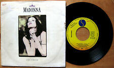 "MADONNA Like A Prayer - 7"" Sire 1989 PROMO Spain Spanish"