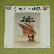 GOODBYE EMMANUELLE [1977/Sylvia Kristel] - RARE 1993 JAPAN LASERDISC (STLI-2011)