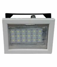 GR 786 Rechargeable 18 LED SQR yellow Emergency Lights.
