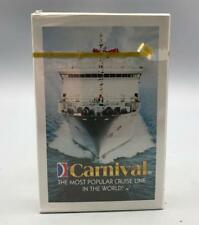 Carnival Cruise Lines Souvenir Playing Cards Sealed