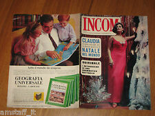 INCOM 1964/52=CLAUDIA CARDINALE=PAOLO STOPPA=GINO CERVI=MIA FARROW=RITA PAVONE=