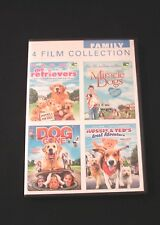 The Retrievers / Miracle Dogs / Dog Gone / Aussie & Ted's Great Adventure (DVD)